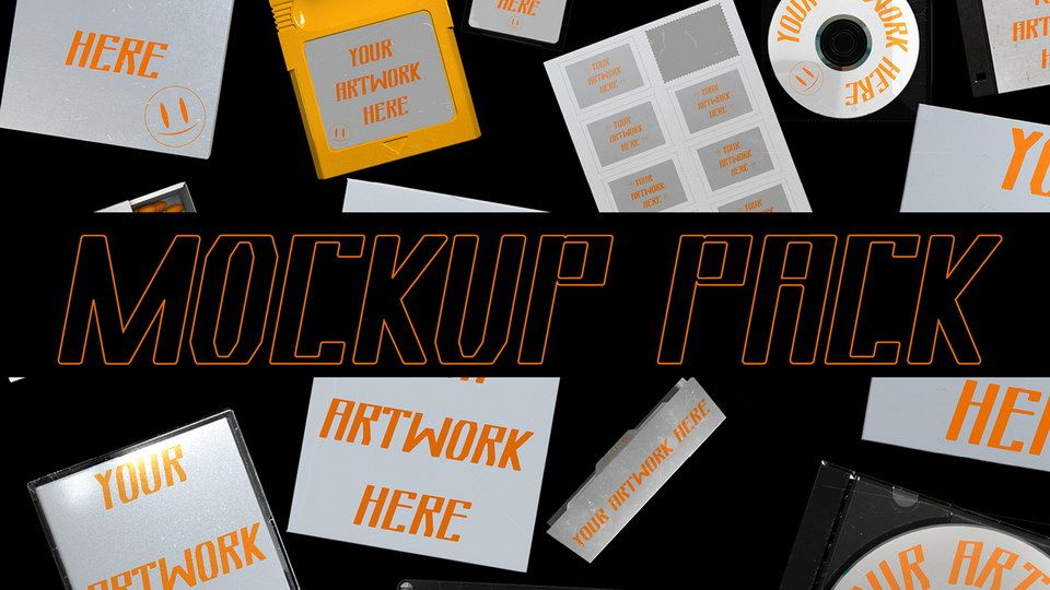 Download 17 Free Mockups Pack · Pinspiry | Free mockup, Design ...