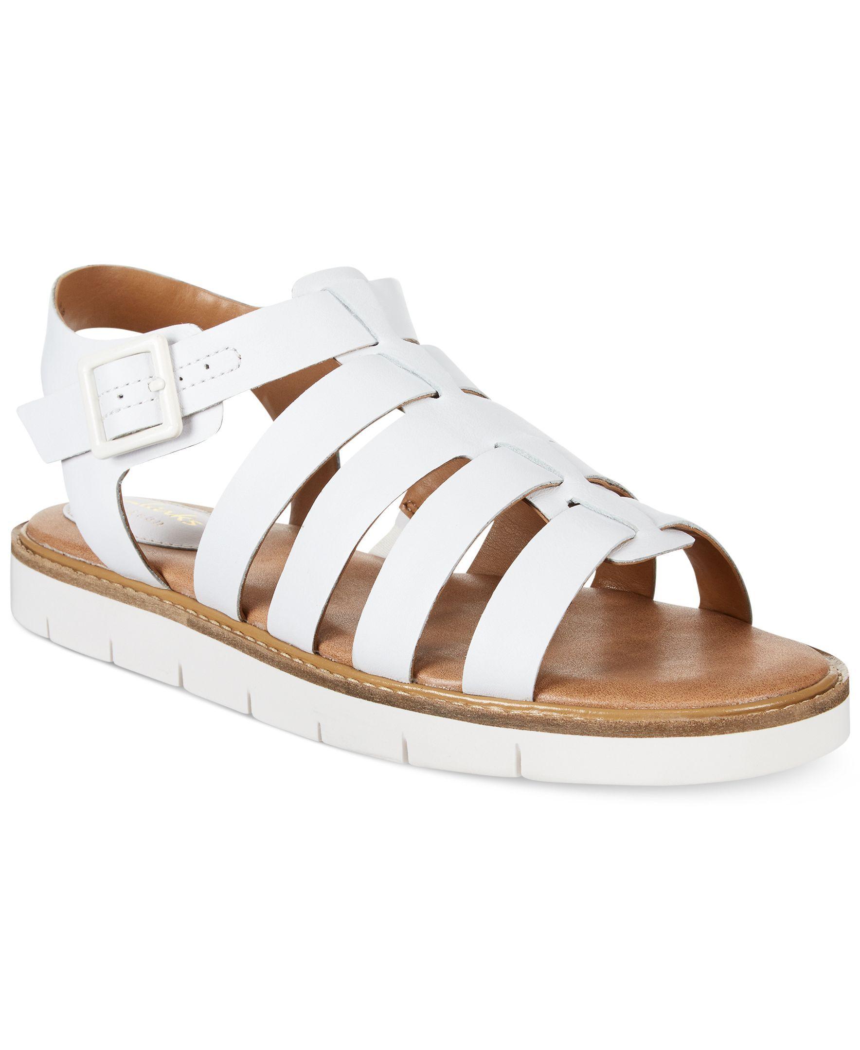f3ccebd5458 Clarks Artisan Women s Lydie Kona Flat Sandals