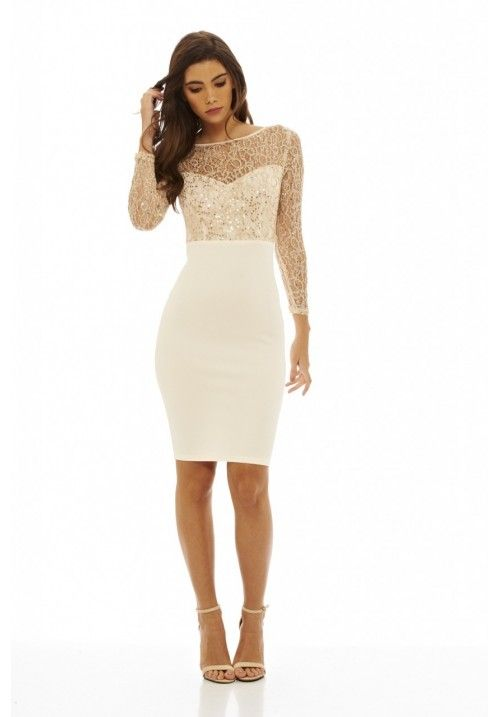 Sequin Top Midi Dress | Smart casual | Pinterest | Sequin top ...