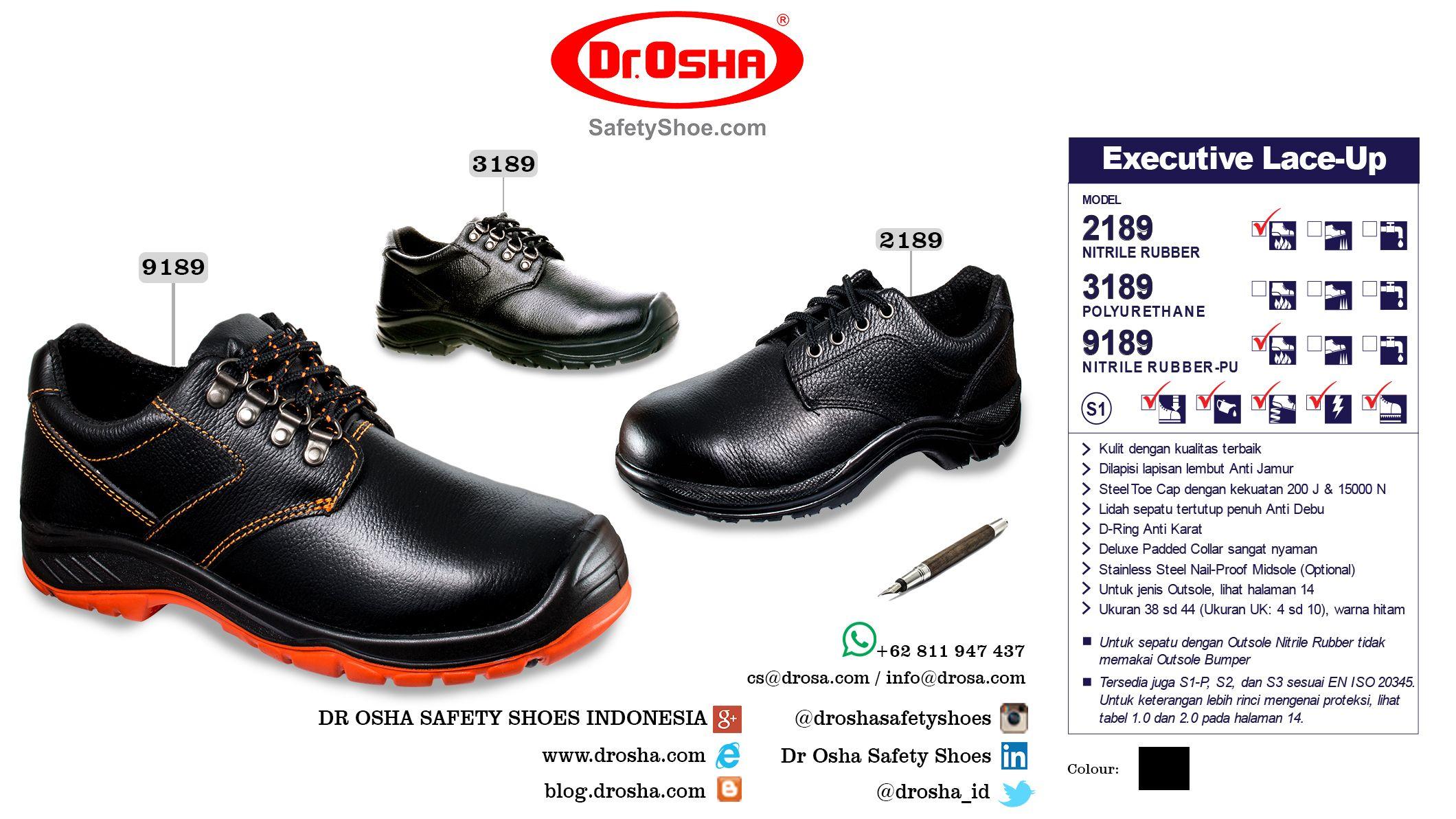 Dr Osha Safety Shoes Hero Straps 3188 Black Daftar Harga Terbaru Cheetah 7106ha Pin By Safetyfootwearco On Sepatu Drosha Commando Ankle Boot
