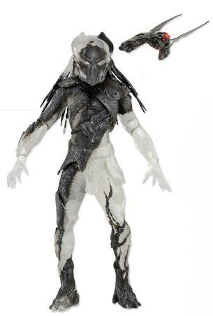 Predator Part Cloaked Falconer Figure from Predators. It is made by NECA and is approximately 19 cm (7.5 in) high  http://alien-predator.minimodelfilmstuff.co.uk/alien-predator/predators-falconer-predator-part-cloaked-figure-neca-51482
