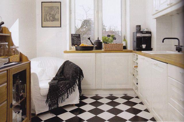 Gdzie Kupic Czarno Biale Plytki W Marokanskie Wzory Heksagony I Karo Flat Ideas Home Decor Home