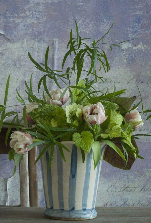 Pynt Med Gronne Buketter Og Dekorationer Pretty Flowers Spring Garden Flowers