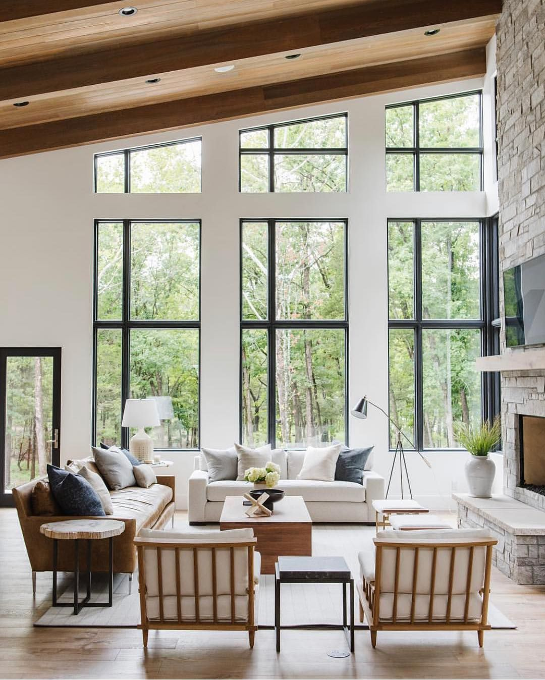 This Is A Great Example Of Staging Because Of The Furniture Turned Towards The Fire Place To Show A Warm Room And Th Home Living Room Home Decor House Interior