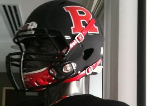 Black Rutgers Football Helmet Uniforms Nikeblog Com Football Helmets College Football Helmets Black Helmet