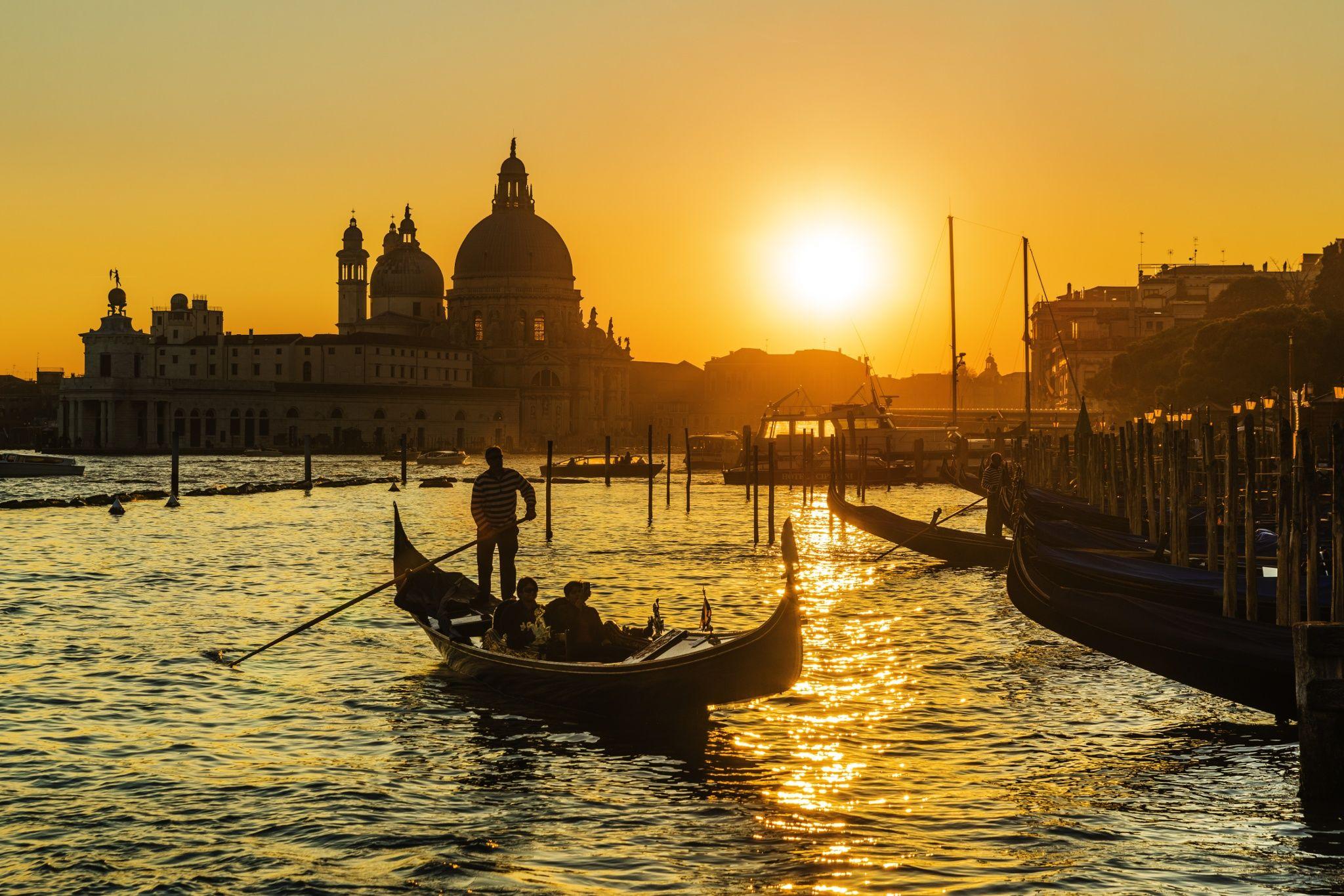 Venice Sunset by PetrusPhoto on 500px