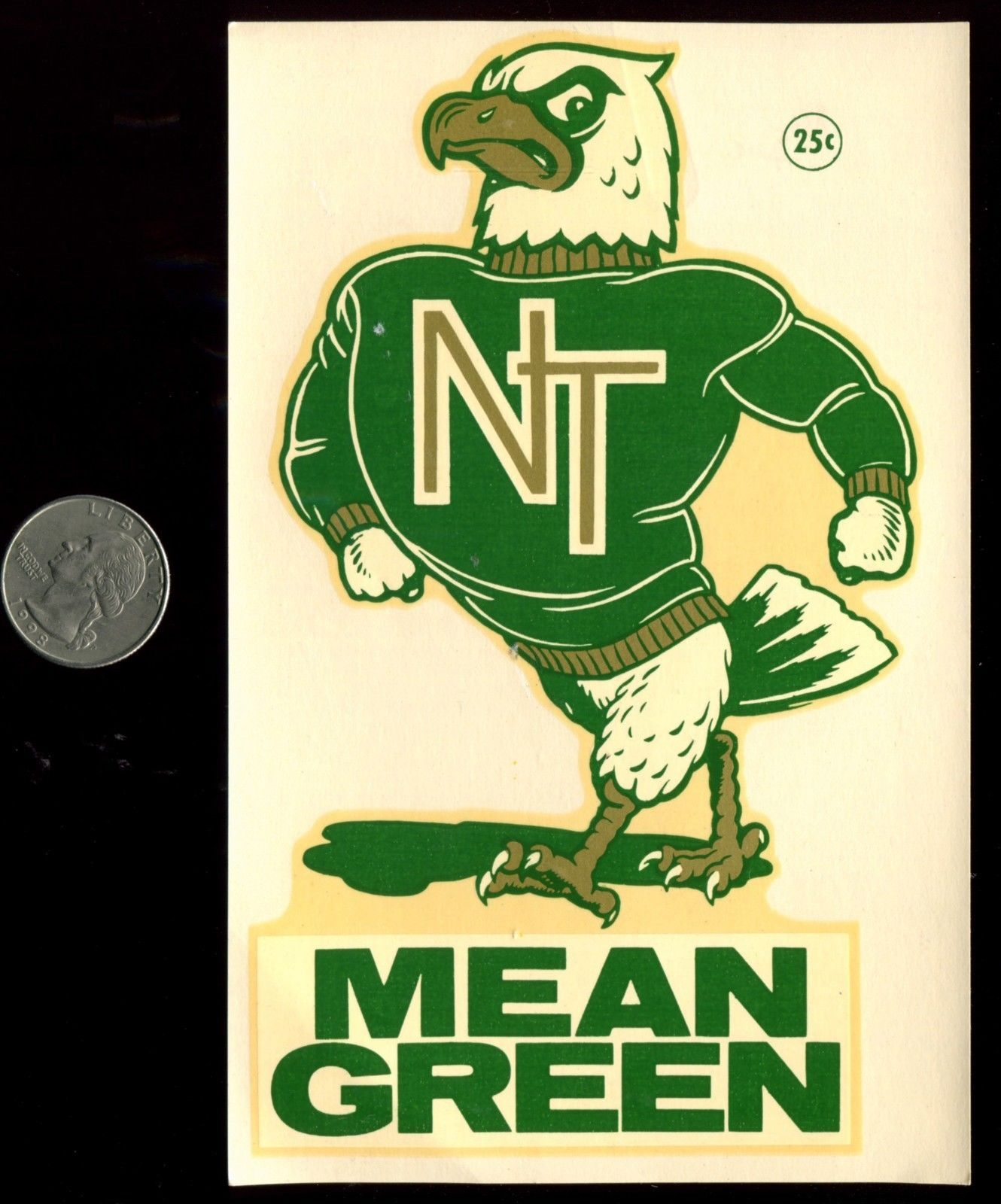 Image result for North Texas State UNiversity's Scrappy cartoon Eagle