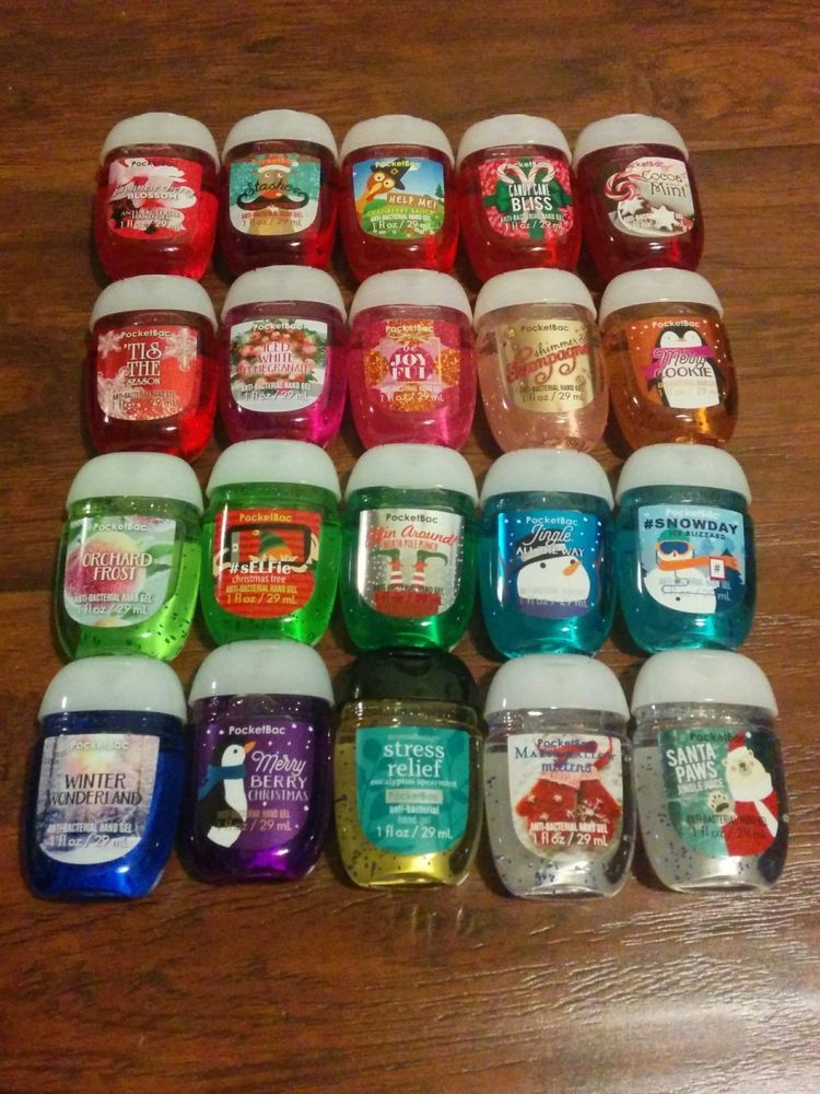 New Bath And Body Works New Look Pocketbac Sets Of 5 You Pick