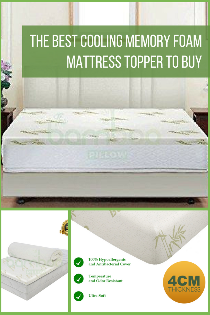 Best Foam Matress The Best Cooling Memory Foam Bamboo Mattress Toppers To Buy