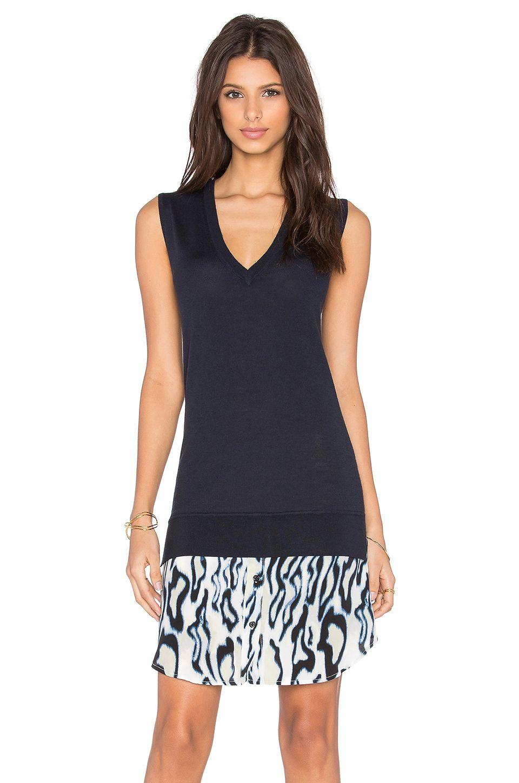 EQUIPMENT Portia Abstract Cheetah Dress. #equipment #cloth #dress