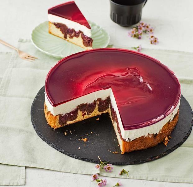Rotkäppchen-Kuchen für Thermomix ® #chocolatedessertrecipes