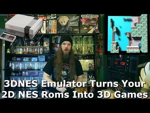 3DNES Emulator Turns Your 2D NES Roms Into 3D Games