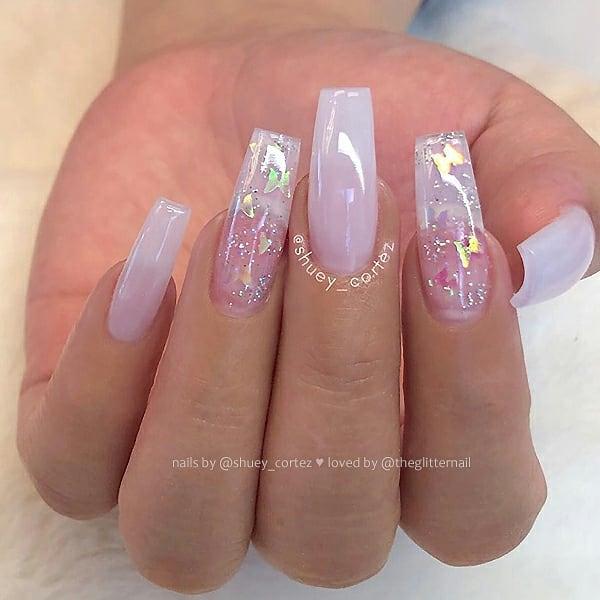 38 Wonderful Pink Nail Art Design Ideas Nails Pink Nails Pink Glitter Nails Pink Nail Ideas Nails Instagram Beautiful Pink Glitter Nails Pink Nails Pearl Nails