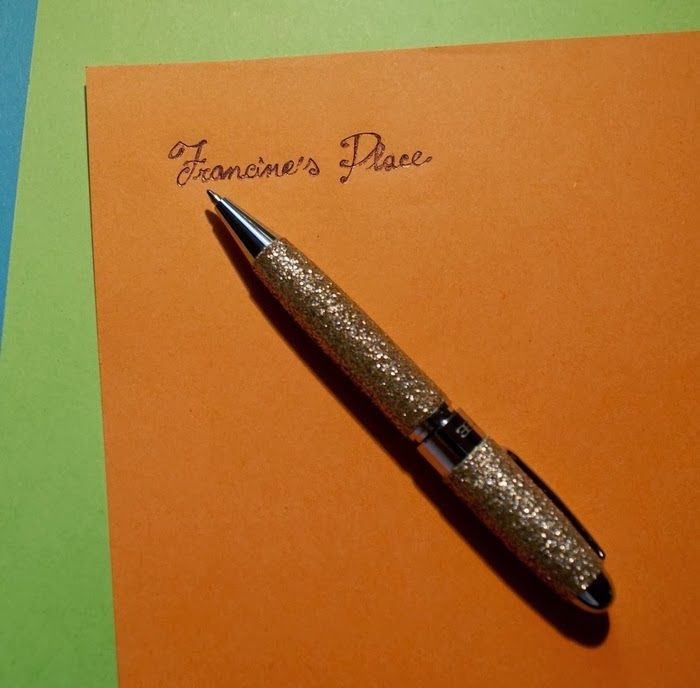Francine's Place: Writing-Tuesday: How to write a Letter