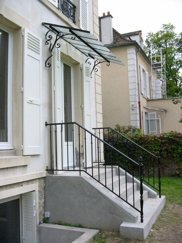 balcon fer forg moderne le petit toit fer forge. Black Bedroom Furniture Sets. Home Design Ideas