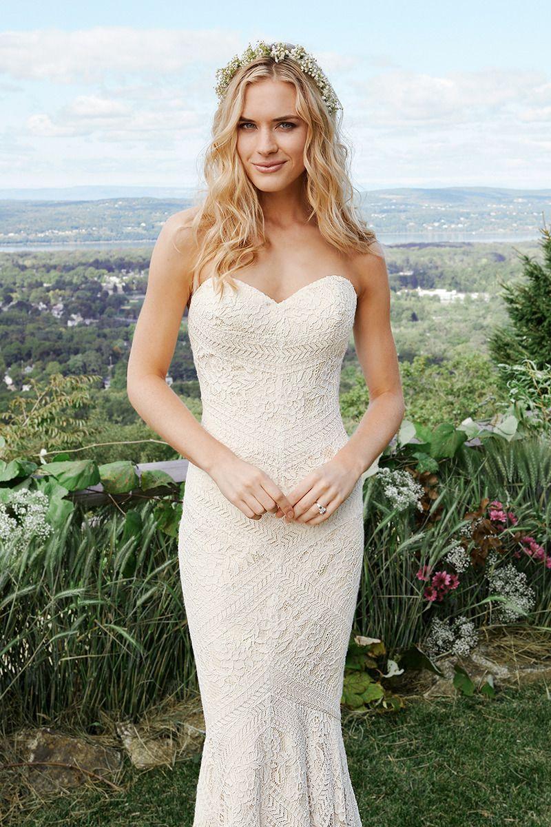 Inez Busty Pretty glamorous wedding dressesjustin alexander   lillian west