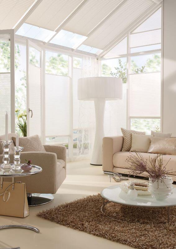 Plissee im wohnzimmer f r zu hause in 2019 pinterest - Plissee wohnzimmer ...