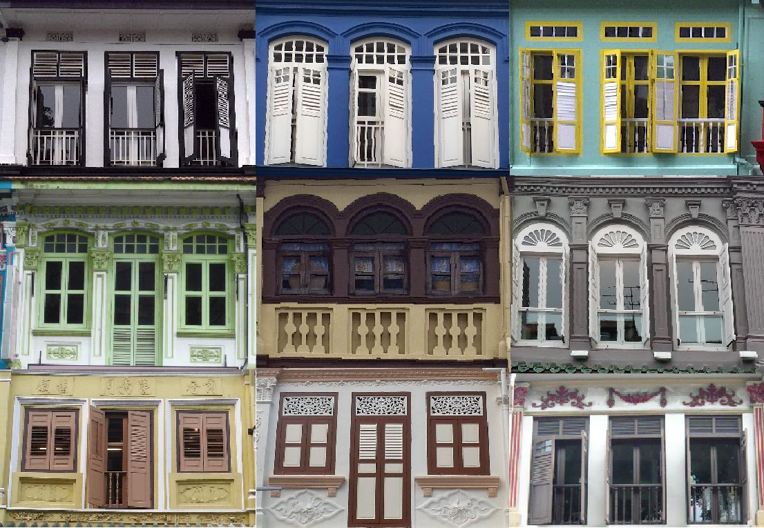 shophouses our heritage singapore and building