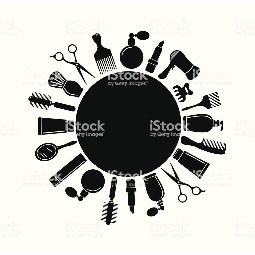Black Hair salon symbol | Peluqueria logotipo, Logo salon ...