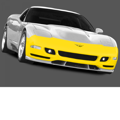 Ivs 1997 2004 Chevrolet Corvette C5 Tiger Shark Front Fascia Without Fog Lights 2883 9508 01 Corvette C5 Corvette Summer Corvette