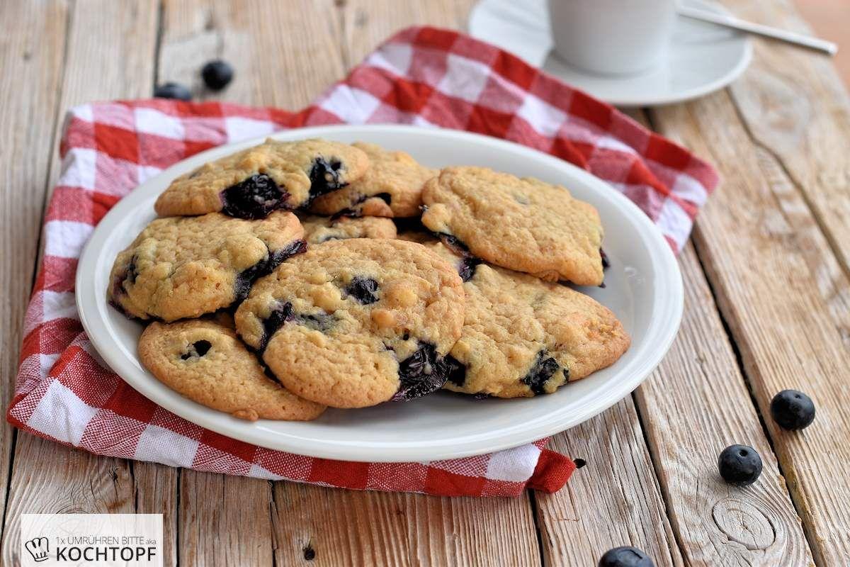 1X Umrühren Bitte Aka Kochtopf softe blaubeer-cookies mit milk crumbs