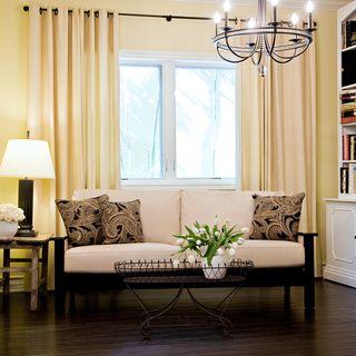 Angelo Home Mercer Almond Renu Leather Sofa With Paisley