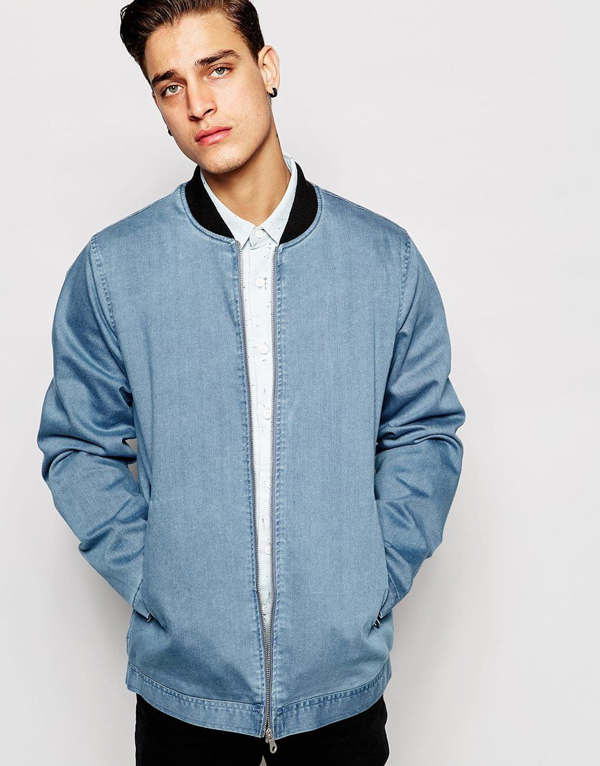 588a7fa85cf67 The bomber jacket is a must for every mans wardrobe. I ll be wearing this  cool longline version this season with a white shirt and black jeans for a  casual ...