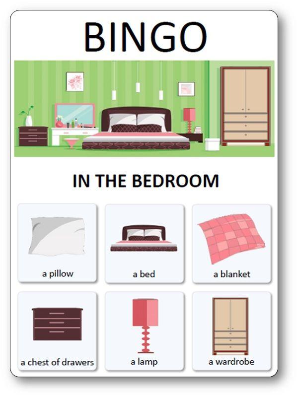 Loto Des Meubles Objets Et Pieces De La Maison In The Bedroom Maison Anglaise Maison Mobilier De Salon
