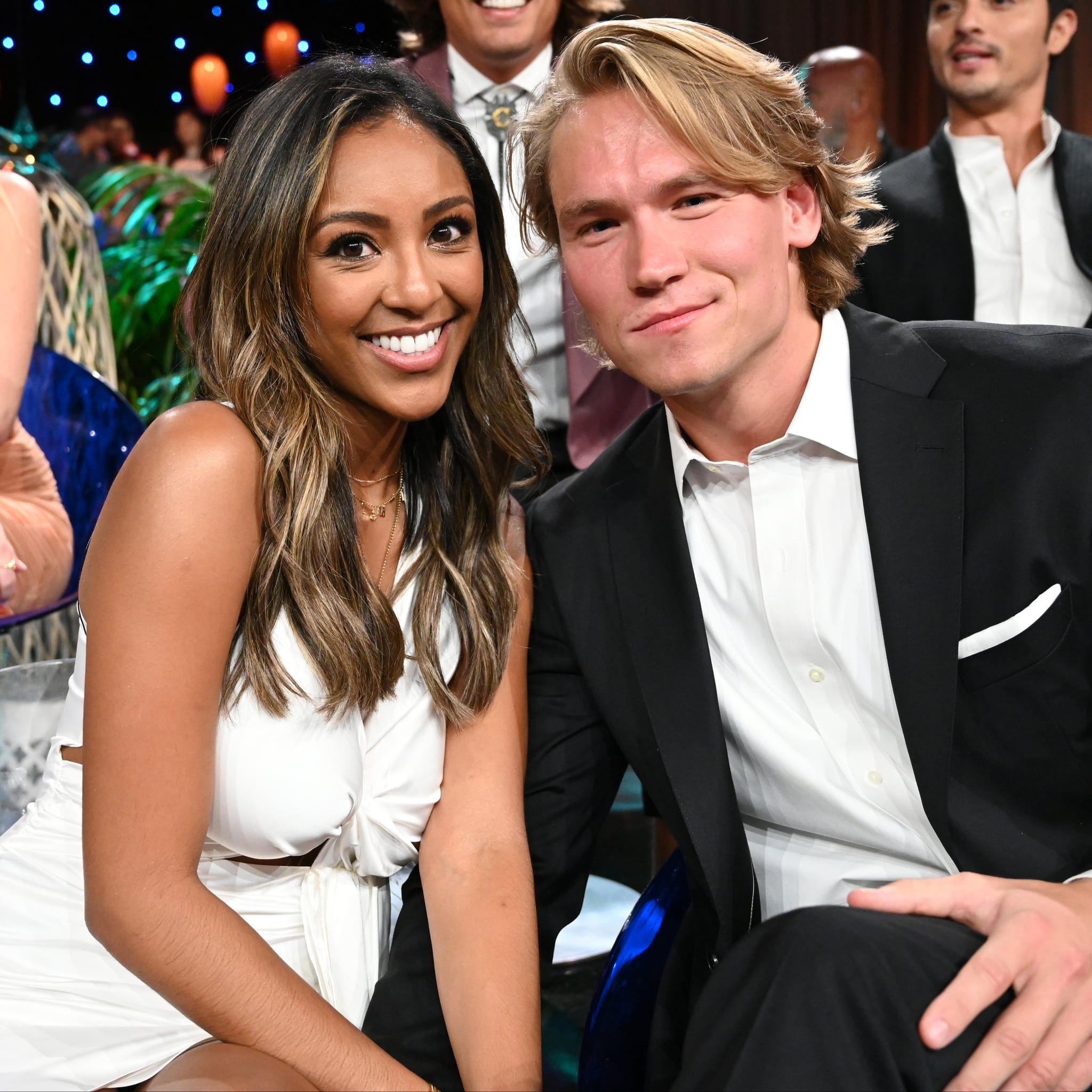 John Paul Jones And Tayshia S Bip Reunion Has Bachelor Nation Praising Her Bold Move John Paul Jones Bachelor Nation Celebrity Couples