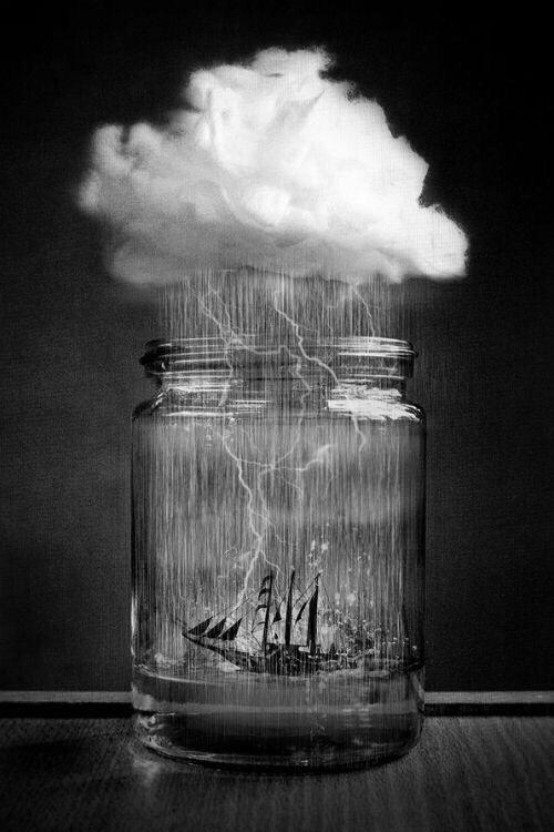 Tempête Dans Un Verre D'eau : tempête, verre, d'eau, Tempête, Verre, D'eau, Manipulation, Photos,, Photographie, Surréalisme,, Surréalisme