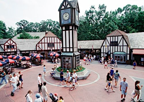 Busch Gardens Williamsburg VA This amusement park divided into