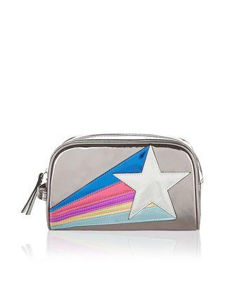 Shooting Star Makeup Bag | Metallic | Accessorize
