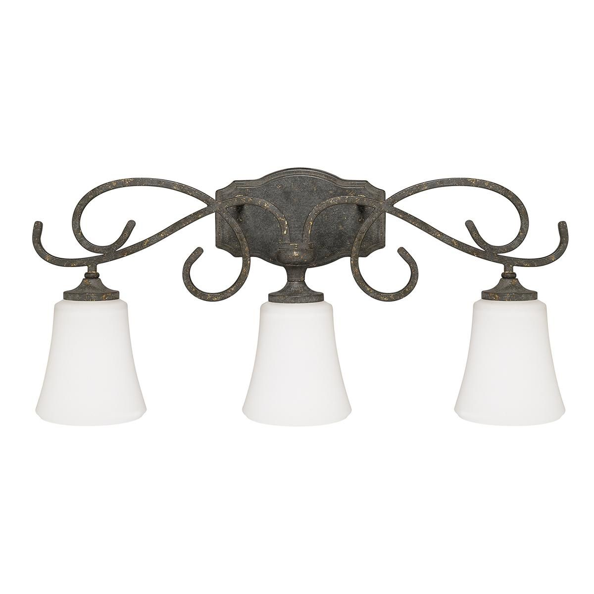 Weathered French Country Bath Light 3 Light Capital Lighting Bath Vanity Lighting Vanity Lighting