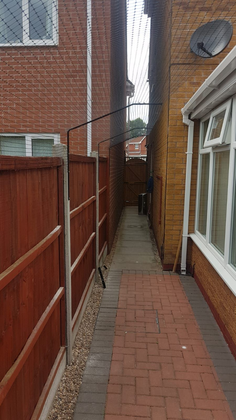 Extra long barrier in 2020 cat fence cat enclosure