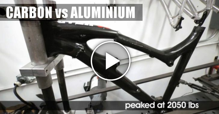 Video | Carbon VS Aluminium by Santa Cruz Test Lab - BTT Lobo