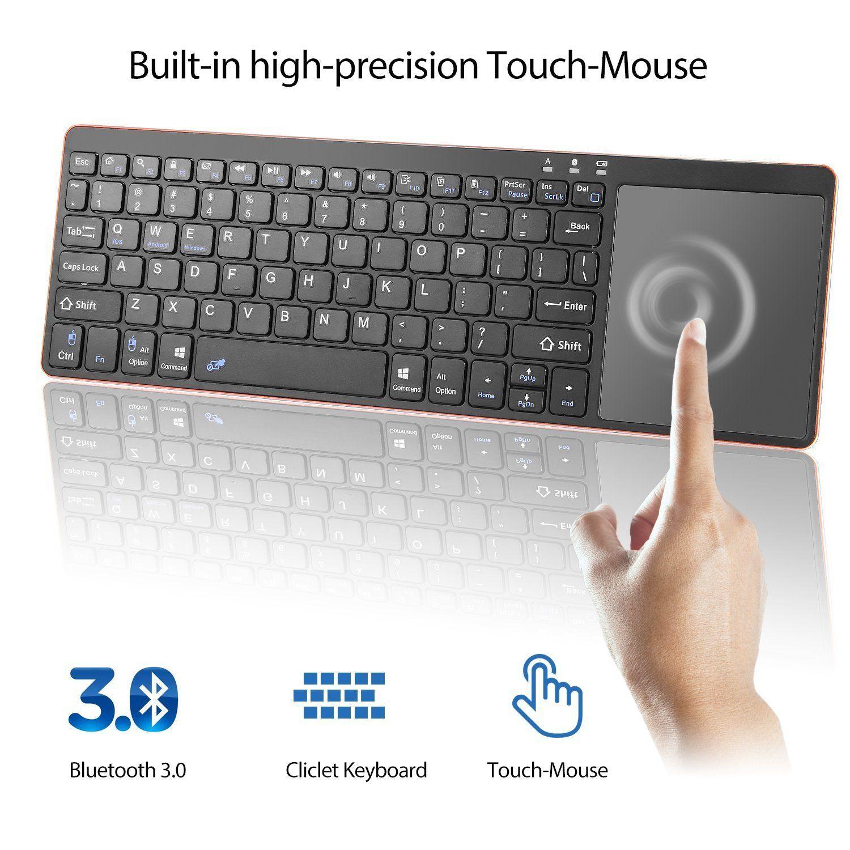 Alitoo Clavier sans fil de clavier de Multi Touch de clavier
