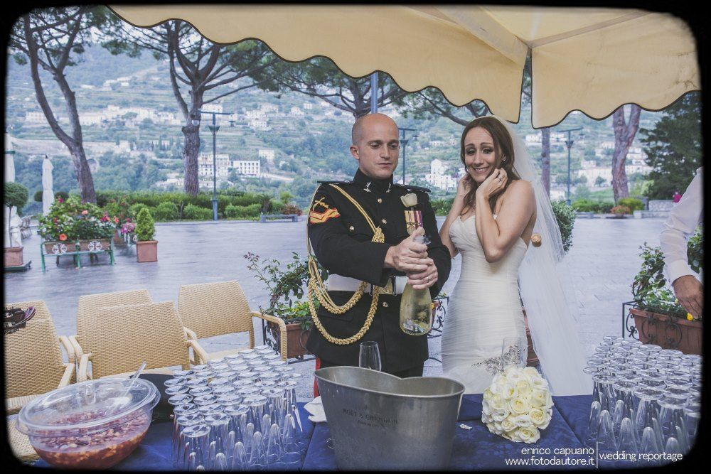 Wedding in Ravello by Mario Capuano local wedding planner and Enrico Capuano professional wedding photographer on the Amalfi Coast
