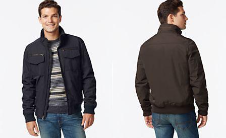 Tommy Hilfiger Performance Bomber Jacket | Mens jackets, Jackets, Bomber  jacket