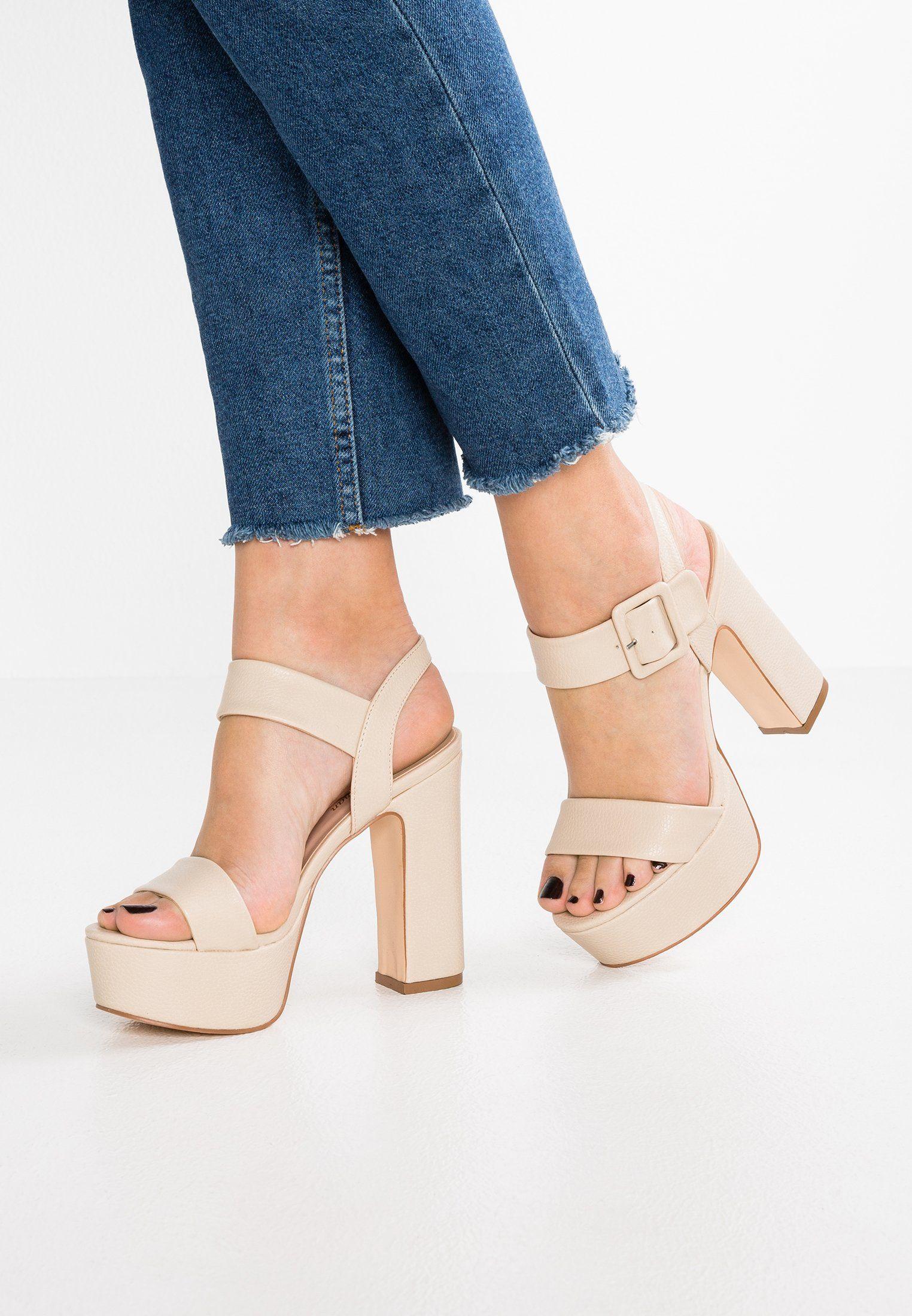 Tata Italia High heeled sandals - beige tTTn4Q9k