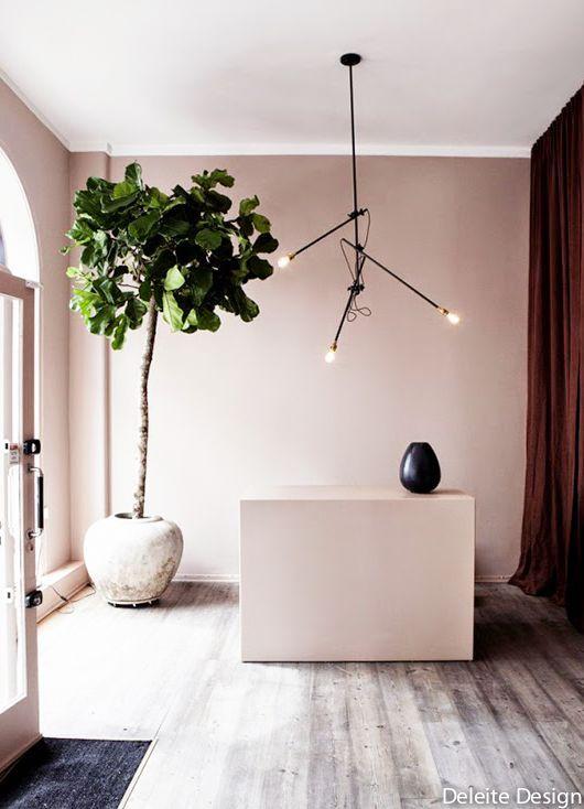 escaliers et couloirs rose poudr dans la d co pinterest et. Black Bedroom Furniture Sets. Home Design Ideas