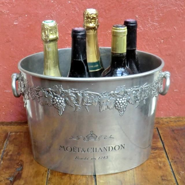 Moet Chandon Pewter Champagne Ice Bucket