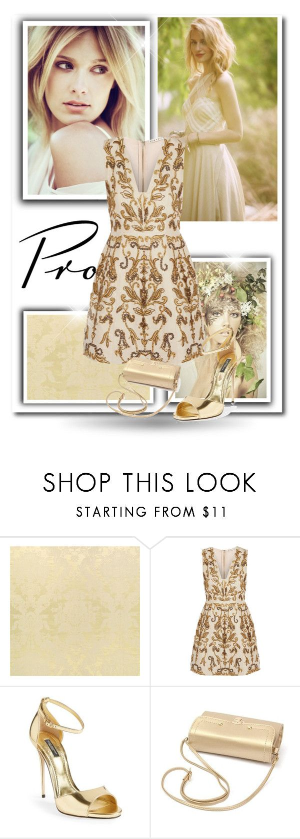 """""""Prom Do-Over: Your New Dream Dress"""" by avete ❤ liked on Polyvore featuring Free People, Alice + Olivia, Dolce&Gabbana and promdoover"""