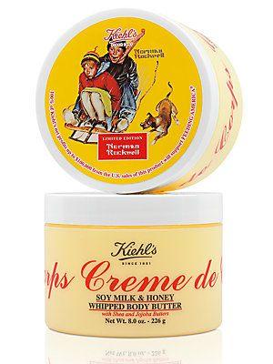 Kiehl's Since 1851 Creme de Corps Soy Milk & Honey Whipped Body Butter/8 oz.