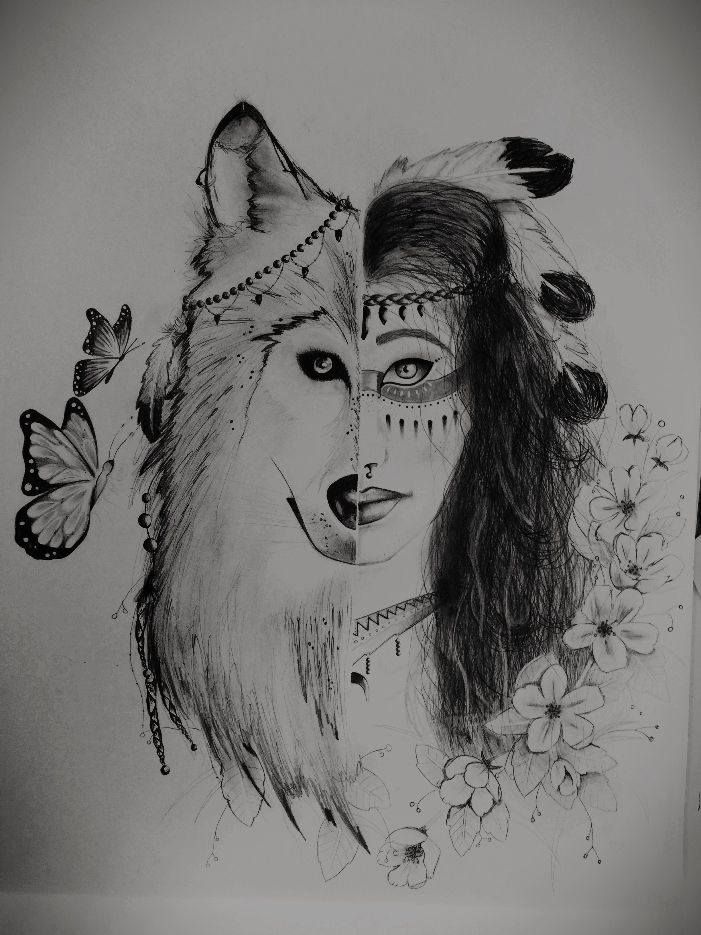 Wolfsmädchen