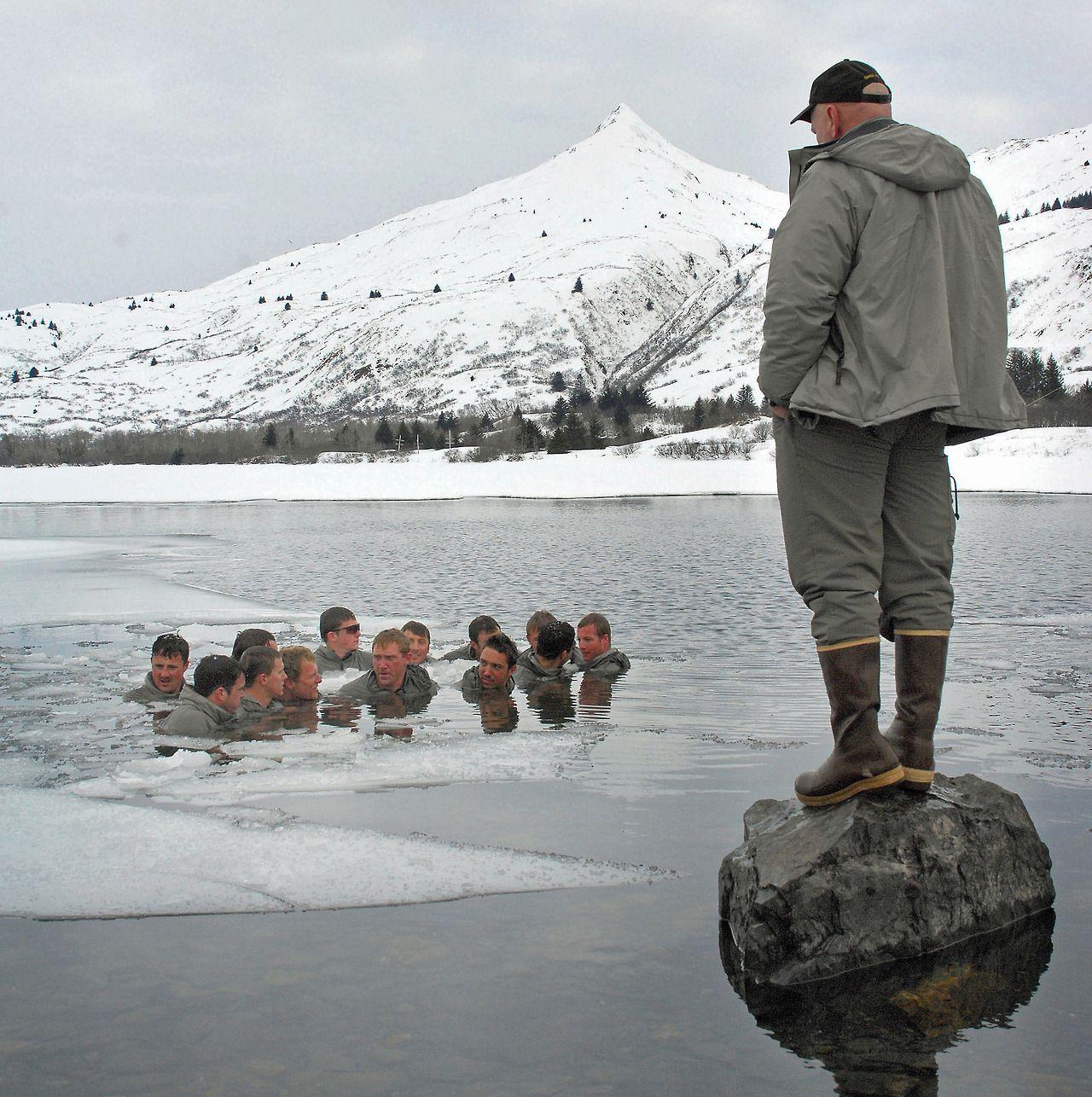 US Navy SEAL arctic training in Kodiak, Alaska. | Strength from ...