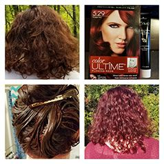 Turning My Dull Red Brown Hair To A Vibrant Red With Schwarzkopf Flaming Reds Hair Color In Vintage Red Che Red Brown Hair Schwarzkopf Hair Color Hair Color
