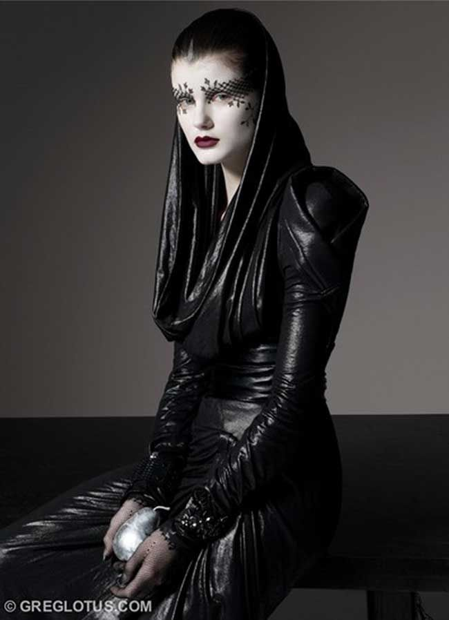 GOTH WITH A TWIST OF AVANT-GARDE, VOGUE ITALIA