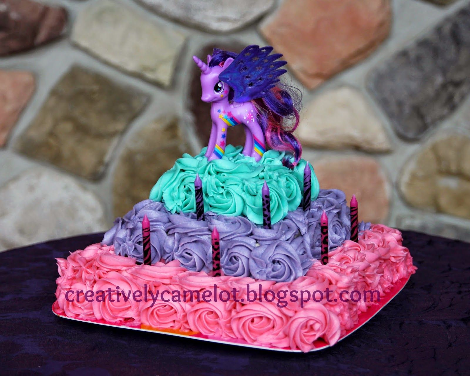 My Little Pony Birthday Cake Toppers Google Search My Little