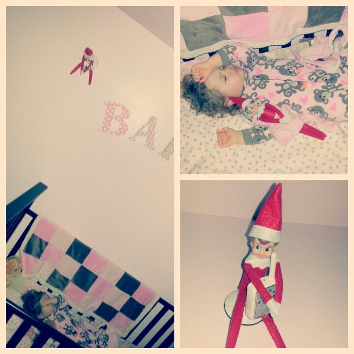 Elf on the shelf ideas 2012 - bedtime