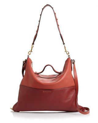 MARC JACOBS The Grip Leather Satchel. #marcjacobs #bags #shoulder bags #hand bags #leather #satchel #
